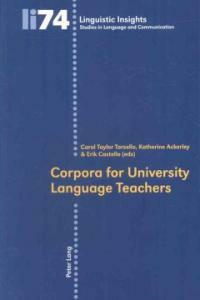 Corpora for university language teachers