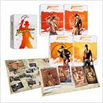 [4K 블루레이] 인디아나 존스 4-Film 콜렉션 슬립케이스 스틸북 한정판 (5disc: 4K UHD + 보너스BD)