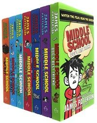 Middle School 7 Book Collection Set (Paperback 7권)