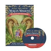 Merlin Mission #17 : A Crazy Day with Cobras (Paperback + CD