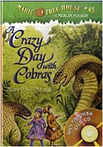 Magic Tree House #45 : A Crazy Day with Cobras (Book & CD)