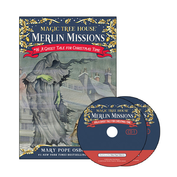 Merlin Mission #16 : A Ghost Tale for Christmas Time (Paperback + CD )