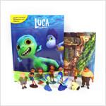 Disney Luca My Busy Book 디즈니 루카 비지북 (미니피큐어 10개 + 놀이판)