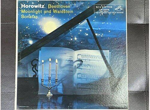 [중고] [LP] 호로비츠 - Horowitz - Beethoven Moonlight And Waldstein Sonatas LP [U.S반]