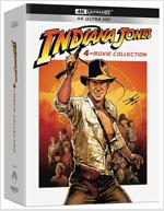 [4K 블루레이] 인디아나 존스 4-Film 콜렉션 : 초도한정 슬립케이스 (4disc: 4K UHD Only)