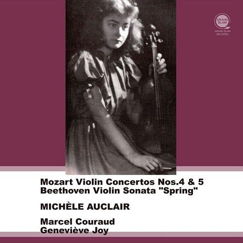 [수입] 모차르트: 바이올린 협주곡 4, 5번 / 베토벤: 바이올린 소나타 5번 봄