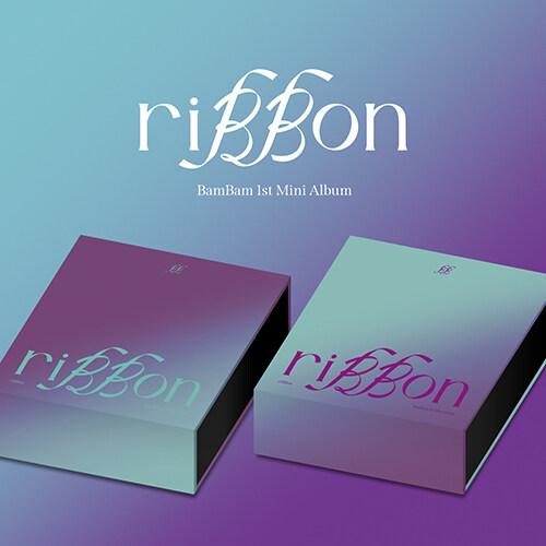 [세트] 뱀뱀(BamBam) - 미니 1집 riBBon [riBBon+Pandora Ver.]