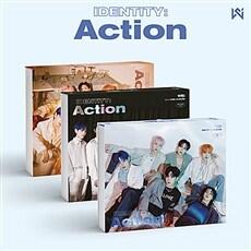 [세트] 위아이 - 미니 3집 IDENTITY : Action [Wave+Roller+Ocean Ver.]