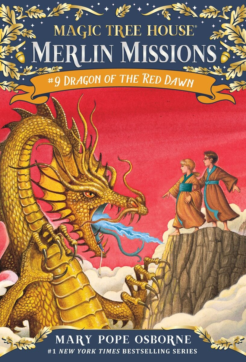 Merlin Mission #9 : Dragon of the Red Dawn (Paperback)