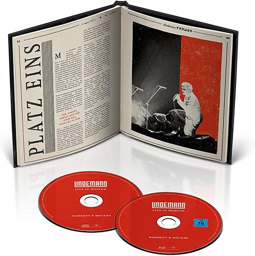 [수입] [블루레이] Lindemann - Live In Moscow [CD+BD][Limited Edition]