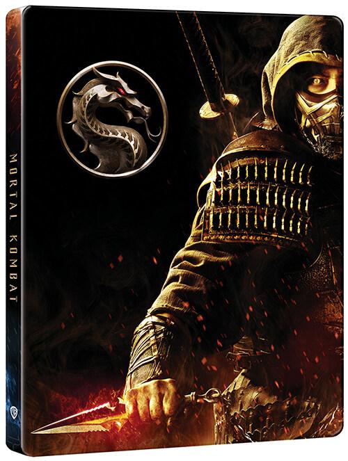 [4K 블루레이] 모탈 컴뱃 : 스틸북 한정판 (2disc: 4K UHD + DVD)