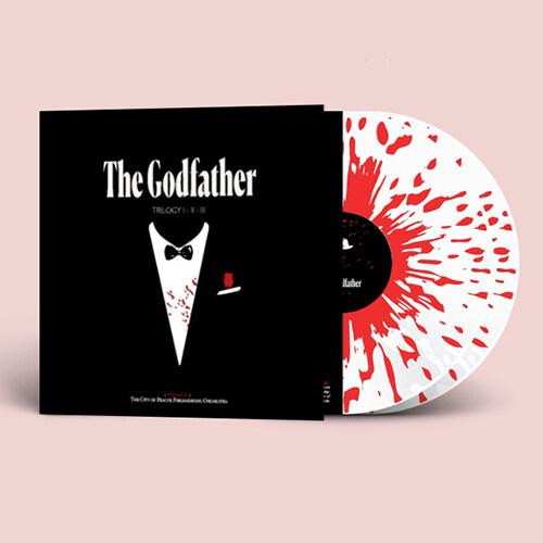 [수입] The Godfather Trilogy I - II - III (대부 3부작) [2 splitter colored LP][Triple Gatefold]