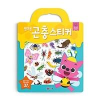 핑크퐁 가방 스티커 : 곤충