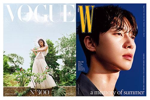 보그 Vogue Korea + 더블유 W Korea 2021.7 - 전2권