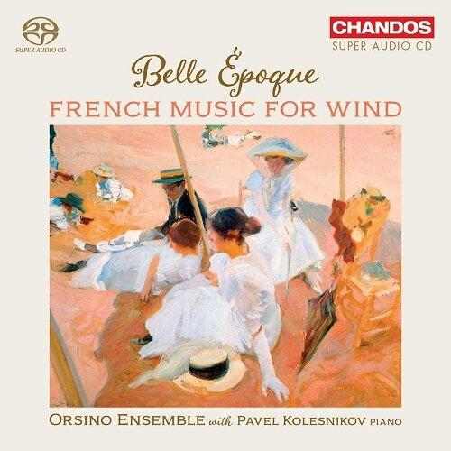[수입] 아름다운 시절 - 관악기를 위한 프랑스 음악 [SACD Hybrid]