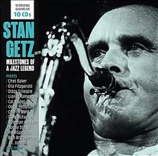 [수입] Stan Getz - Milestones of a Jazz Legend [10CD]