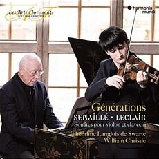 [수입] 르클레르 & 세나이에 : 바이올린 소나타 [디지팩]