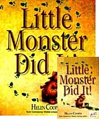 [베오영] Little Monster Did It! (Paperback + Tape 1개)