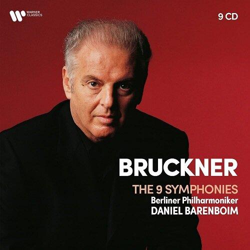 [수입] 브루크너 : 9개의 교향곡 [9CD]