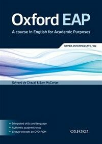 Oxford EAP: Upper-Intermediate/B2: Student's Book and DVD-ROM Pack (Package)