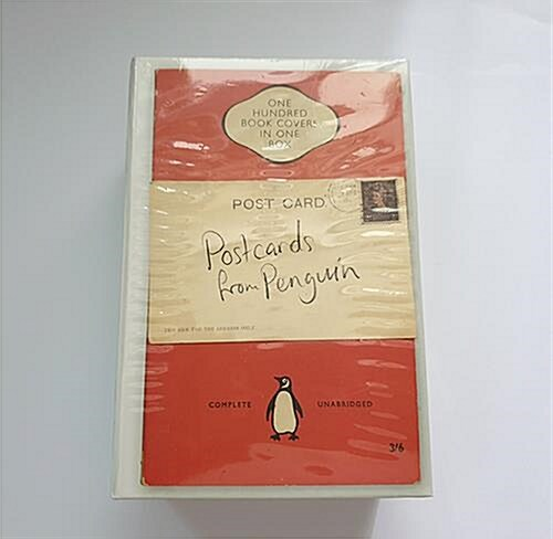 [중고] Postcards from Penguin : 100 Book Jackets in One Box (Hardcover)