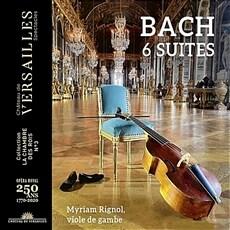 [수입] 바흐: 무반주 첼로 모음곡 전곡 (비올라 다 감바 연주) [2CD 디지팩]