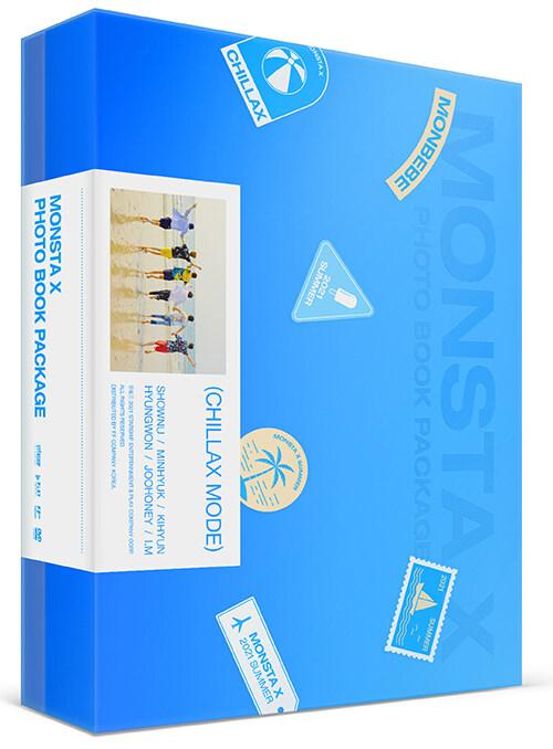 몬스타엑스 - 2021 MONSTA X PHOTO BOOK PACKAGE : CHILLAX MODE