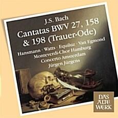[수입] 바흐 : 칸타타 BWV 27, 158, 198 장례 송가