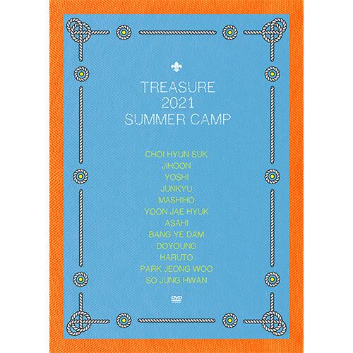 트레저 - TREASURE 2021 SUMMER CAMP [DVD]