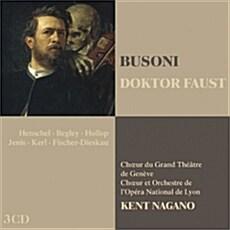 [수입] 부조니 : 파우스트 박사 [3CD]