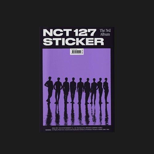 엔시티 127 - 정규 3집 Sticker [Sticker Ver.]
