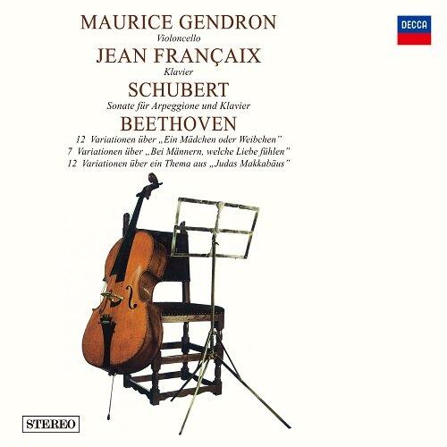 슈베르트: 아르페지오네 소나타 / 베토벤: 첼로를 위한 변주곡 [180g LP 게이트폴드 한정반]