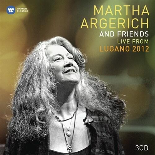 [수입] 아르헤리치와 친구들 - 2012 루가노 페스티벌 [3CD 한정반]