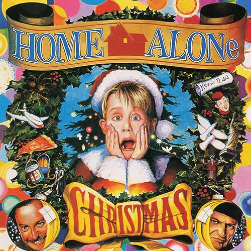 [수입] Home Alone Christmas [Clear with Red & Green Christmas Party swirl LP]