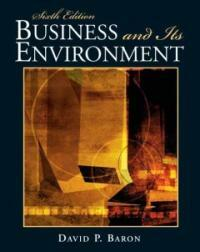 Business and its environment 6th ed