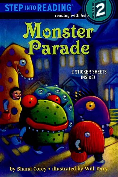 Monster Parade [With Sticker(s)] (Paperback)