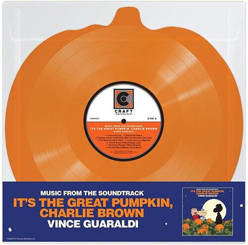 [수입] Vince Guaraldi - Its The Great Pumpkin, Charlie Brown [45RPM, Pumpkin Shaped LP, Limited Edition]