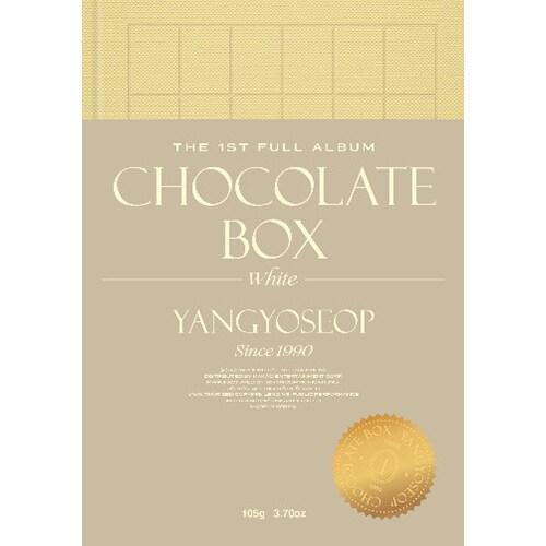 양요섭 - 정규 1집 Chocolate Box [White Ver.]