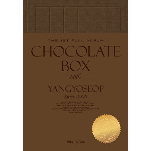 양요섭 - 정규 1집 Chocolate Box [Milk Ver.]