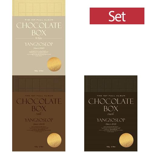 [세트] 양요섭 - 정규 1집 Chocolate Box [White+Milk+Dark Ver.]