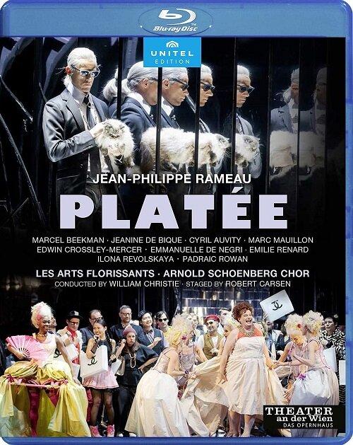 [수입] [블루레이] 라모 : 오페라 플라테 (한글자막)