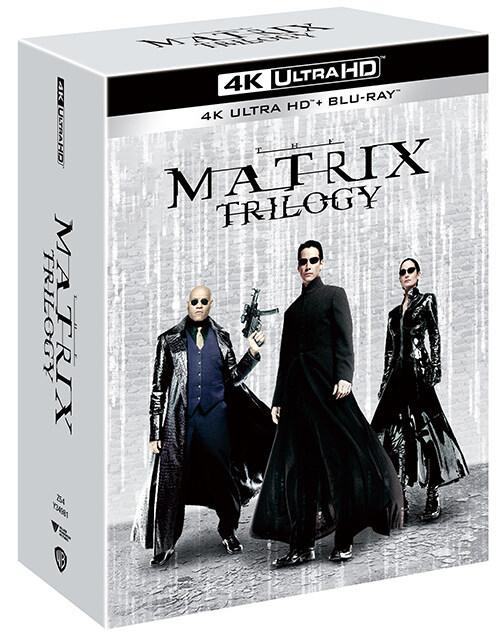 [4K 블루레이] 매트릭스 트릴로지 콜렉션 : 리패키지 (9disc)