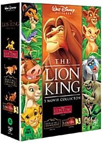 라이온 킹 트릴로지 박스세트 (3disc)
