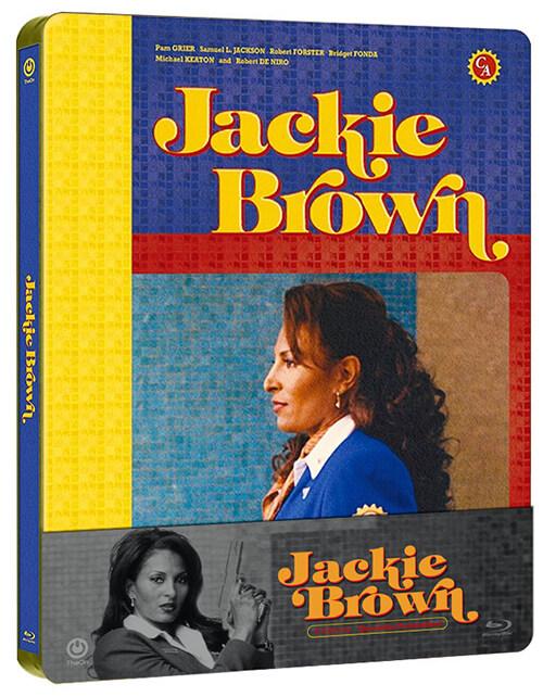 [블루레이] 재키 브라운 : 스틸북 쿼터슬립 한정판