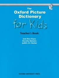 The Oxford Picture Dictionary for Kids (Paperback, Spiral)