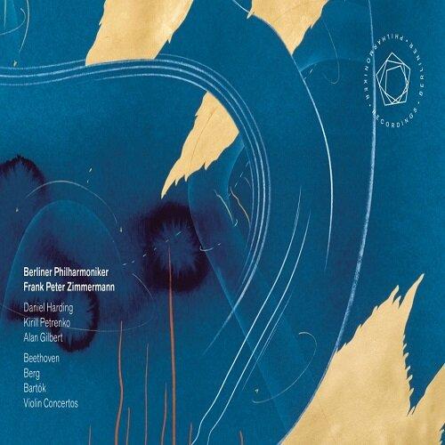 [수입] 프랑크 페터 침머만 & 베를린 필 - 바이올린 협주곡집 [2CD + Blu-ray]