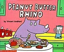 [중고] Peanut Butter Rhino (Paperback)