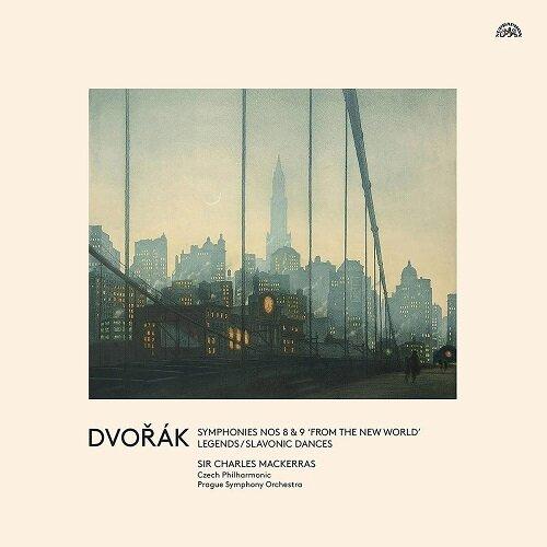 [수입] 드보르자크: 교향곡 8번, 9번신세계, 전설 & 슬라브 춤곡 [180g 3LP]