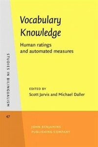 Vocabulary knowledge : human ratings and automated measures