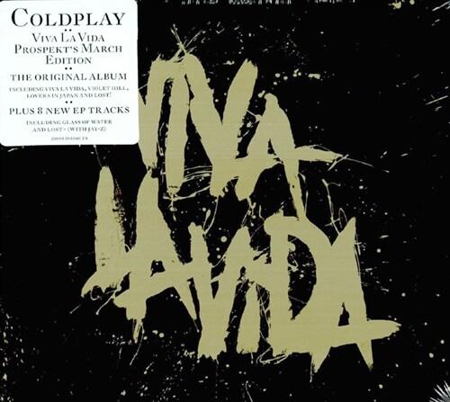 [수입] Coldplay - Viva La Vida + Prospekts March [2CD 디지팩 한정판]